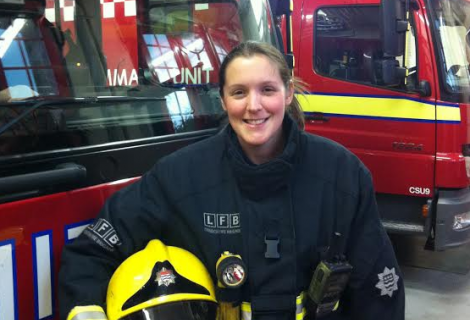 Working Women: Meet Emma Watling, firefighter