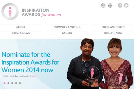 Guest Post: Inspiration Awards for Women